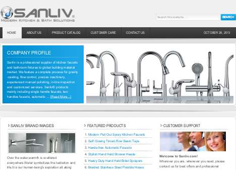 Sanliv Sanitary Ware Official Website
